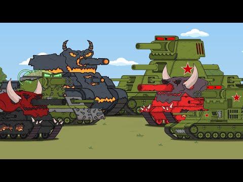 ТОП битвы монстров-Мультики про танки