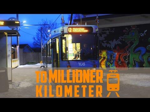 Trikk 108 har gått TO MILLIONER kilometer!