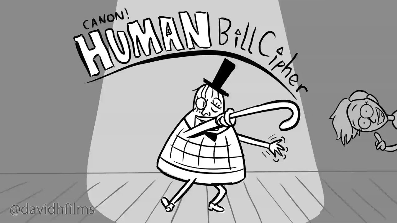 Canon Human Bill Cipher Storyboards Animatic Youtube