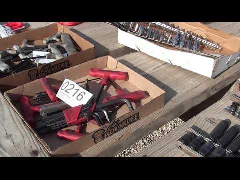 HUGE TOOL AUCTION --Not Buying anymore-mrpete tubalcain