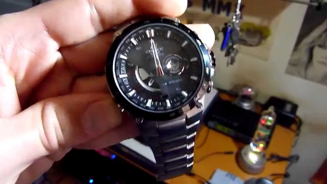 2517be2785df M8AX - Reloj Casio Edifice EQW-A1000DB-1AER - YouTube
