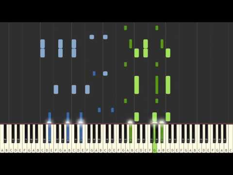Stay - Zedd Ft. Alessia Cara piano tutorial [SYNTHESIA]