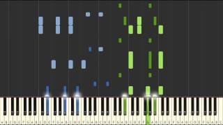 Download Stay - Zedd Ft. Alessia Cara piano tutorial [SYNTHESIA] MP3 song and Music Video
