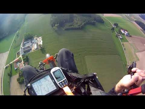 Motorschirm-Flug Vilsbiburg-Landshut Teil 1