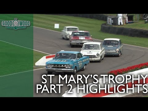 St. Mary's Trophy Part 2 Highlights | Goodwood Revival 2018