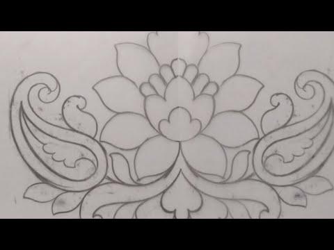 89 Cut Work Saree Border Designs Drawing Cutwork Lace Rosebud