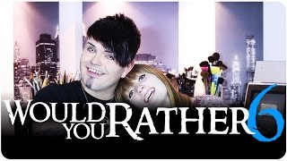 Would You Rather 6! - Tag Video! - With Caz!!
