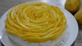 Mango Tres Leches Cake  Three Milk Cake