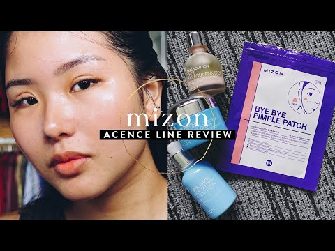 IN-DEPTH MIZON ACENCE SKINCARE REVIEW | Acne & Blemishes