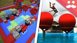 How To Build TOTAL WIPEOUT in Minecraft!