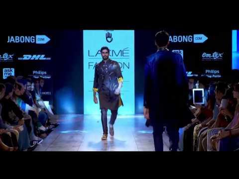 Kunal Rawal Spring 2015 collection at Lakme Fashion Week Mumbai