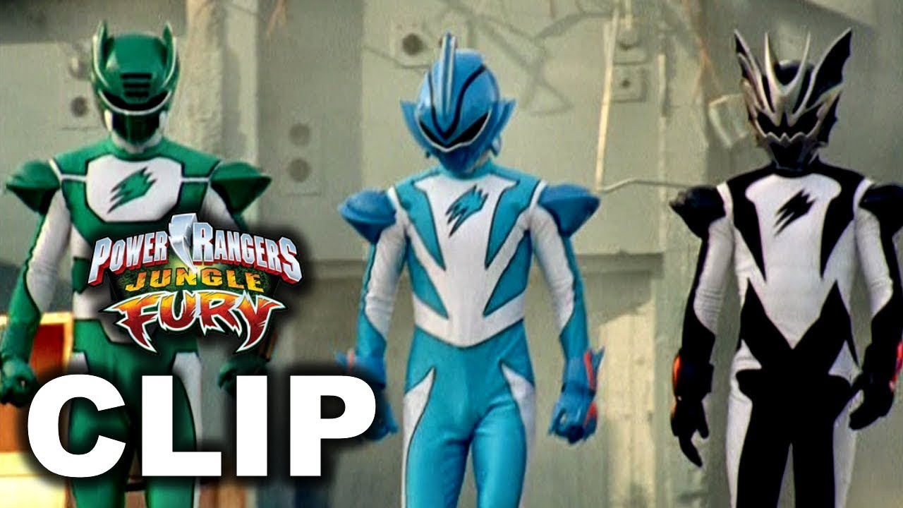 Spirit Rangers First Scene/Debut ('Fear And The Phantoms' Episode