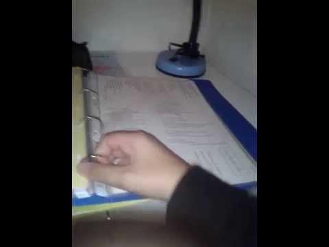 Comment ouvrir les intercalaires d 39 un classeur youtube - Comment customiser un classeur ...