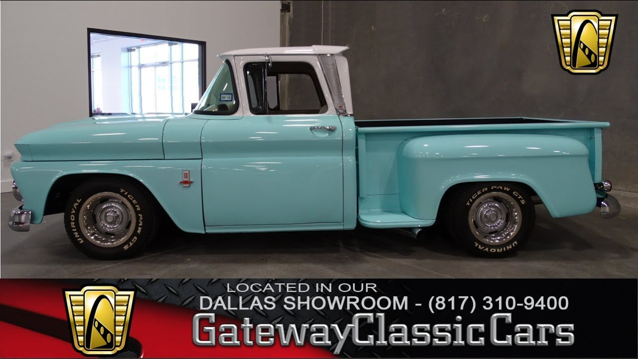 All Chevy 1963 chevy stepside for sale : 1963 Chevrolet C10 Stepside Stock #23 Gateway Classic Cars Dallas ...