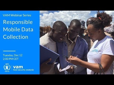 Webinar: Collecting Mobile Data Responsibly