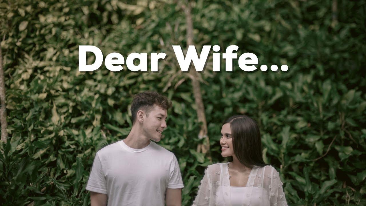 Dear Wife....