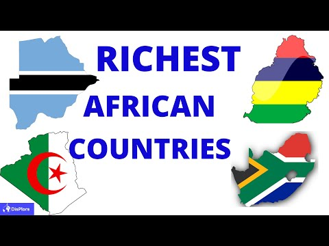 Top 10 Richest Countries in Africa 2020