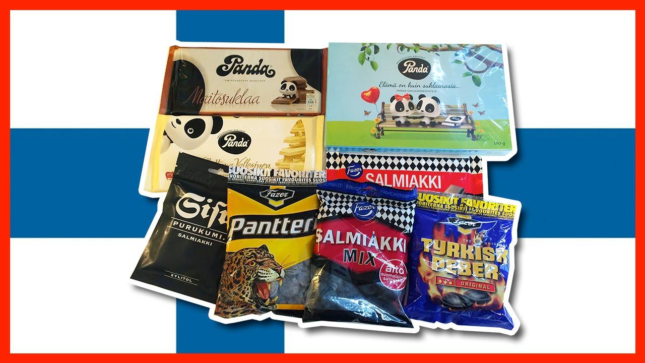 Treats from Finland - Panda, Salmiakki, Chocolate