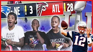 CAN WE RECREATE THE PATRIOTS EPIC SUPER BOWL COMEBACK?! - Madden 17 Gameplay