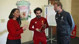 Liverpool's Mohamed Salah announced as 2017 BBC African Footballer of the Year
