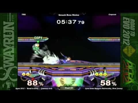 Apex 2012 - SSBM Pool 22 - TRK VS Copycat