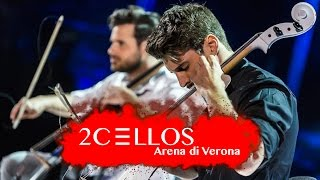 Video 2CELLOS - Viva La Vida [Live at Arena di Verona] download MP3, 3GP, MP4, WEBM, AVI, FLV Agustus 2017