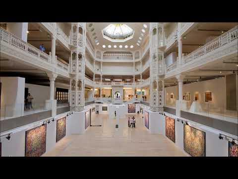 Algérie, Musées, Musée des Arts Modernes d'Alger M A M A