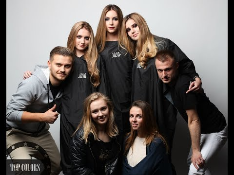 Бэкстэйдж фотосессии Top Colrs для Jojo HairCosmetics | Backstage Photo Shoot For Jojo HairCosmetics