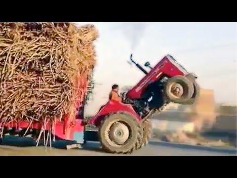 10 Accidentes de Tractores Más Increíbles