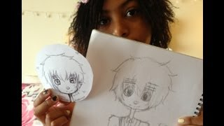 How to draw England from Hetalia