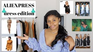 ALIEXPRESS Clothing Haul| Summer/FALL 2017|DRESS Edition| $6 and UP!