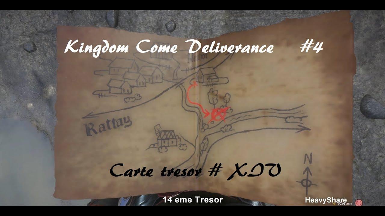 Carte Au Tresor Kingdom Come.Kingdom Come Deliverance Carte Au Tresor Xiv