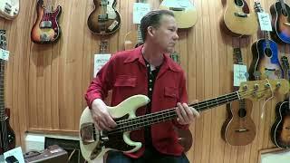 Gambar cover MES-soitinpankki: 1963 Fender Jazz Bass, Jussi Jaakonaho