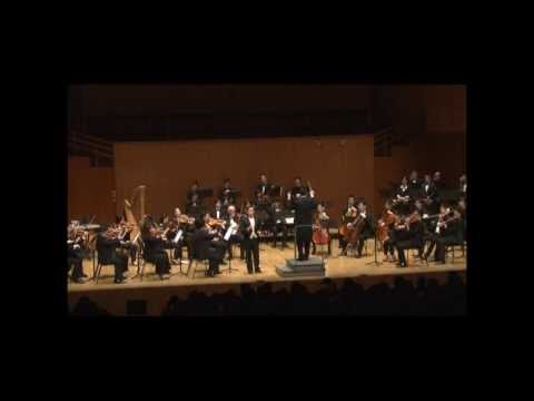 Laurence Lau Bass with Hong Kong Chamber Orchestra