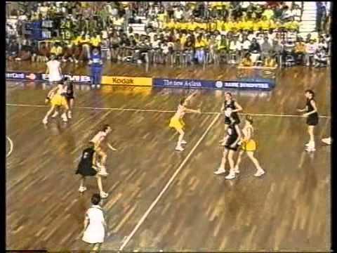 Netball: Diamonds V Silver Ferns CWG 1998 Final