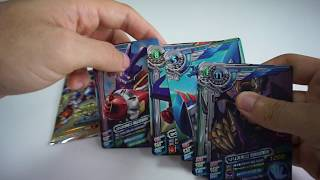 Digimon Xros Wars Super Digica Taisen Set 3 Booster Pack Opening