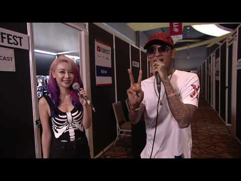 Wengie & Young Lex @ YouTube FanFest Indonesia 2016 Mp3