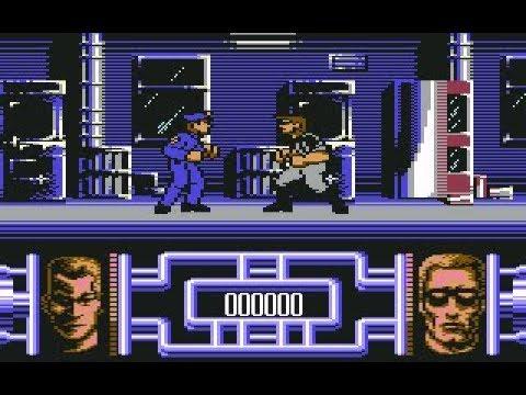 "Terminator 2: Judgment Day (C64) Longplay ""Trained""1991, Ocean, Dementia"
