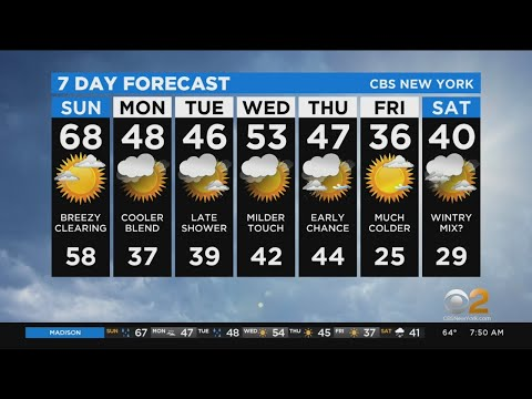 New York Weather: 1/12 Sunday Forecast