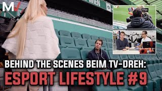 Behind the Scenes beim TV-Dreh I eSport Lifestyle #9 😎🎥