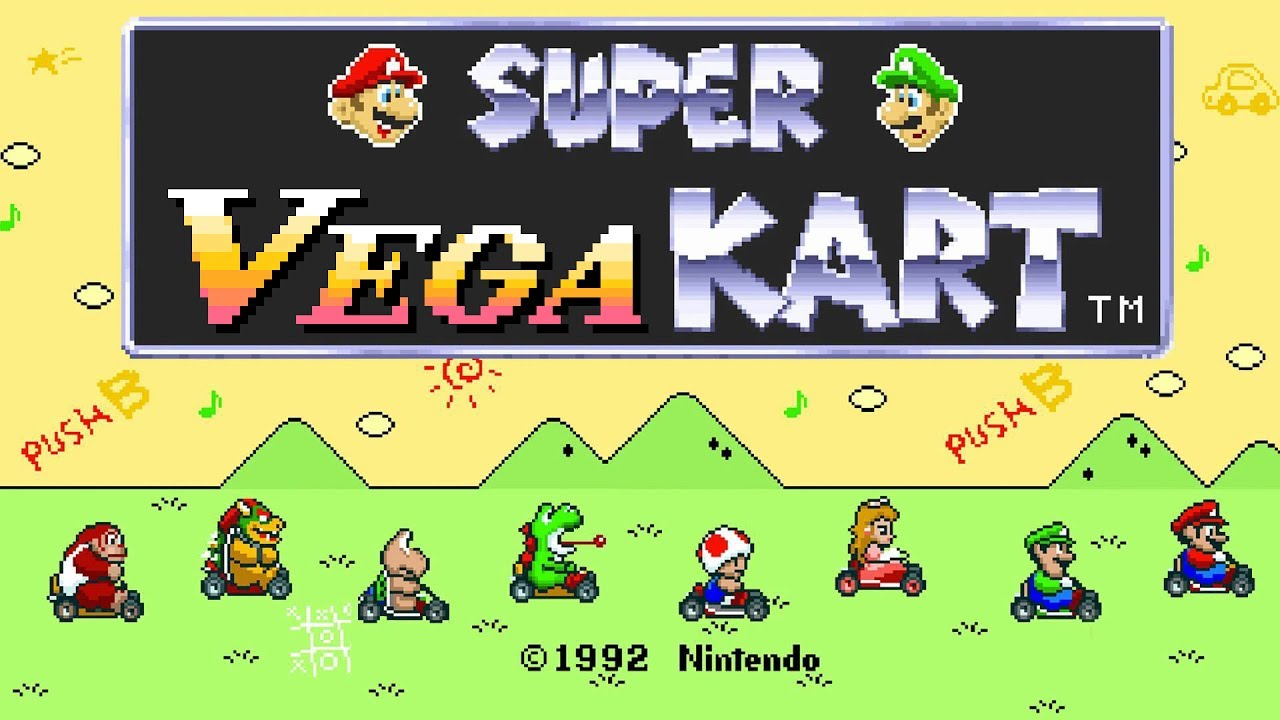 Vega's Theme - Street Fighter 2 [Mario Kart Soundfont, CPS1 Key] SNES rip