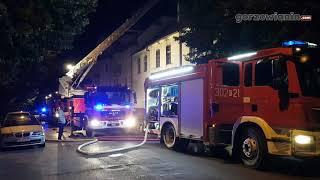 Pożar w kamienicy przy ul. Borowskiego. To kolejne podpalenie?