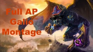 The Epic of Full AP Galio (Full AP Galio Montage)