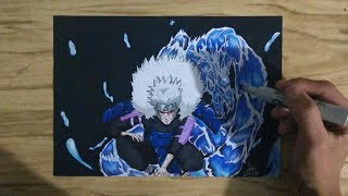 SPEED DRAWING Tobirama Senju ( collab hokages)