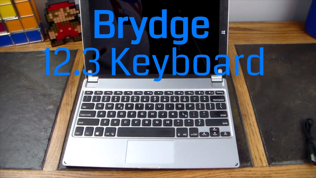 Brydge 12 3 Keyboard for the New Surface Pro, Pro 3 and Pro 4