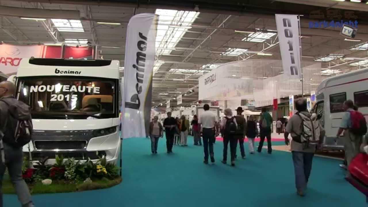 Salon des v hicules de loisirs 2014 camping car youtube - Salon vehicule loisir ...