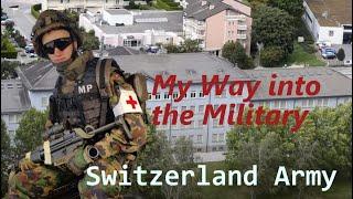 My way into the Switzerland Military