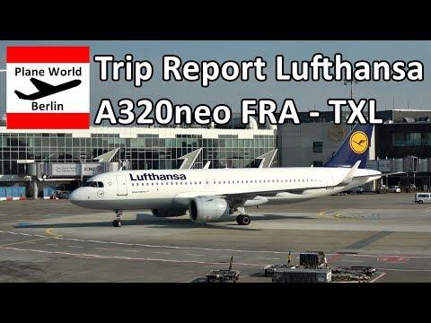 Trip Report | Lufthansa Airbus A320neo | Economy | Frankfurt - Berlin-Tegel