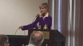 ⭐️Speaker Donna Arp Weitzman at Plano Rotary