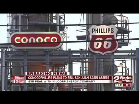 Conocophillips plans to sell San Juan Basin Assests for 3-billion-dollars